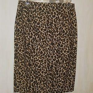 Cute zebra print skirt